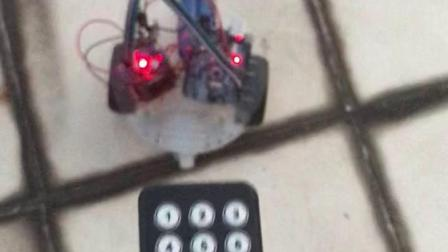 Arduino红外遥控小车L298驱动两电机(2)