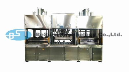必硕科技——纸浆模塑半自动餐具生产线