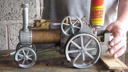 最简单的蒸汽牵引机车