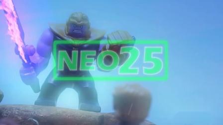 乐高复仇者联盟3最終結局完全版 NEO25乐高定格动画