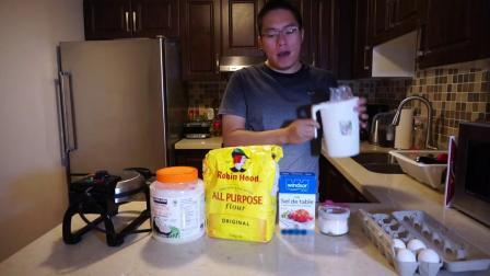 斑马格林 vlog005 - 美味早餐-华夫饼配咖啡忆苦思甜