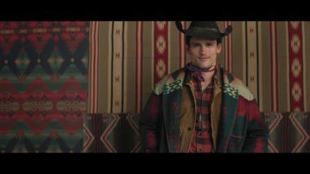Vogue Hommes Cover Boy Simon Nessman plays the 5 great men of Ralph Lauren