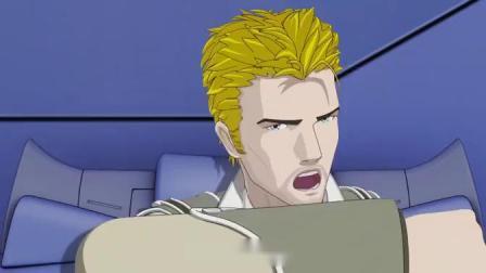 超限猎兵凯能OVA版 第04集 [国语中字] 虽然有些日漫'机动战士高达seed'的既视感,不过总体上比纯抄袭的好一点_高清