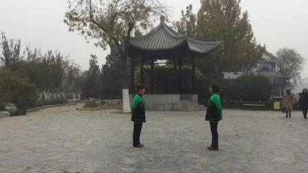 天津七姐妹广场舞---双人对跳-真心爱你