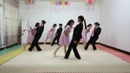 基督教舞蹈(天堂之路你为我开通)夹沟镇辛丰舞蹈团原创
