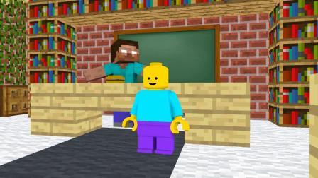 我的世界动画-乐高人 vs 怪物学院-Paw Animation