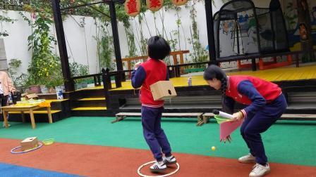 小圣贤幼儿园开放日之小小班亲子游戏:小鸡下蛋