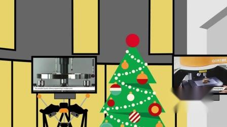 来自圣诞的节日祝福,圣诞快乐!