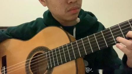 小蒋吉他 焰纹枫木背侧板弗拉门戈吉他 阿拉伯舞曲