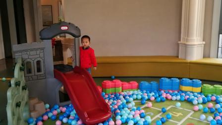 室内游乐场 滑滑梯 海洋球 大乐高 大积木(宝贝3岁7个月)