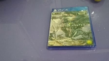 《无游不欢》《怪物猎人世界》简单开箱