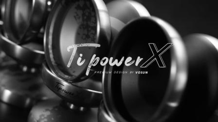 VOSUN队员演绎最新版超强纯钛环YOYO 溜溜球 专业悠悠球TipowerX