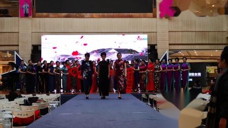 丹东旗袍会向全市人民拜年了