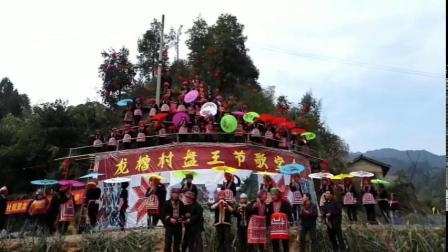 贺州大平龙槽村盘王节,