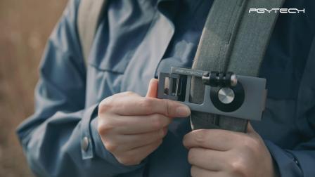 PGYTECH OSMO POCKET 背带固定座-视频教程
