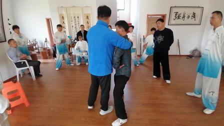 与丹阳太极拳友分享张志俊功夫架
