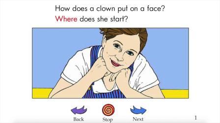 A Clown Face - RAZ level-F