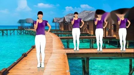广场舞《正能量歌曲》舞步简单好看 大众健身舞 适合初学者附教学~
