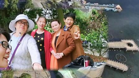 《老乡姐妹花绽放在银城秀峰公园》