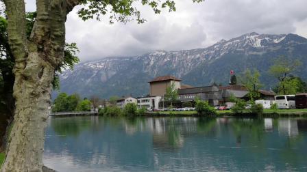 瑞士童话小镇因特拉肯