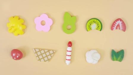 Hape玩具 厨房玩具—缤纷纸杯蛋糕套