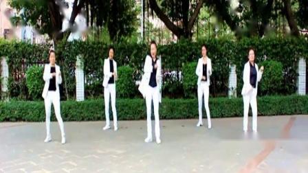 一起走天涯  泰和长寿健身队广场舞教学用 附背面和分解动作
