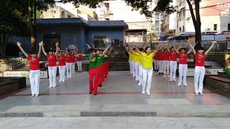 荆门香香广场舞《美丽中国》