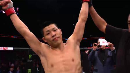 ufc163完整视频 UFC五大中国力量 李景亮绝地求生KO德国悍将