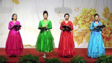 天津天缘旗袍 渔阳古韵队 诗朗诵 《读中国》 摄像 韩宝福