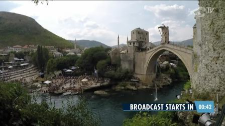 Red Bull Cliff Diving in Mostar