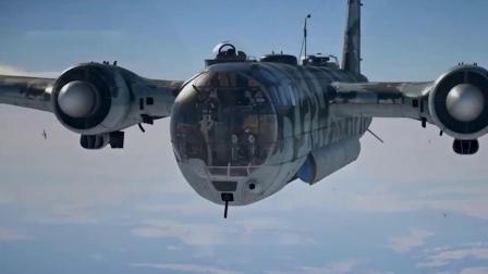 二战德国多大胆?把两具引擎焊接在一起,推出4发双螺旋桨轰炸机
