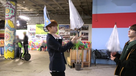 [T:TIME] Who is the winner of 'Umbrella game'? - TXT