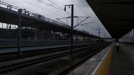 2019年9月6日,G6151次(怀化南站—广州南站)本务中国铁路广州局集团有限公司广州动车段长沙动车运用所CRH380B-3659广州北站通过