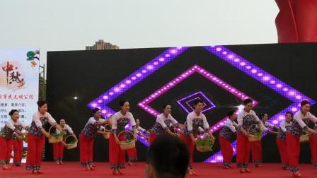 第二届邮储杯广场舞大赛裕安区参赛《老百姓的菜蓝子》