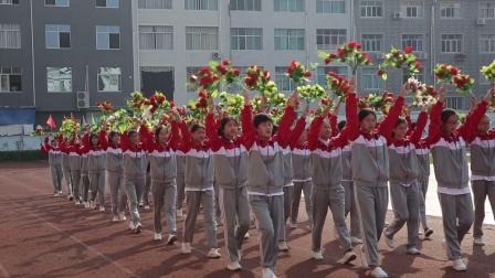 仙居县横溪镇新生中学喜迎祖国70华诞
