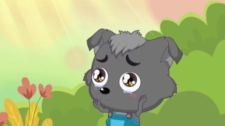 灰太狼得了一种怪病,红太狼着急的流下了眼泪
