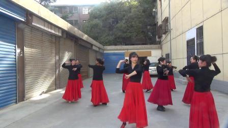 兰州霓裳玫瑰新疆舞培训班结业表演(一)🍁🌻🌷