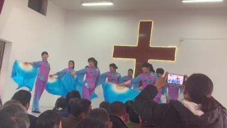 基督教舞蹈 中华儿女一起来赞美