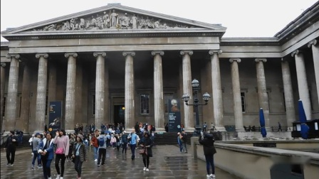 英国行—《走进大英博物馆》2019年9月。