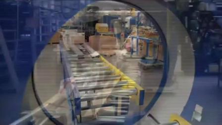 工业4.0 自动化包装的好帮手 水平式裹膜机 包装示范