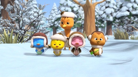 萌鸡小队趣自然冬天为什么有些动物不见了?
