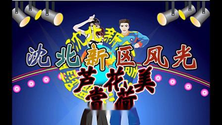 沈北新区喜洋洋广场舞《风光赏荷》芦花美字幕
