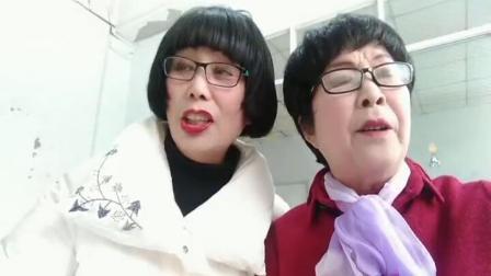 镇平涅阳街道办老体协庆《三八》豫剧合唱