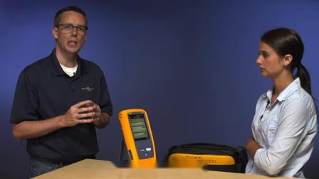 DSX5000 CH电缆认证分析仪设置测试仪