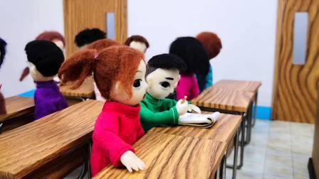 老师放在讲台的小盆栽不见啦,木瓜这么贪吃,难道被他当成小果子吃掉了?