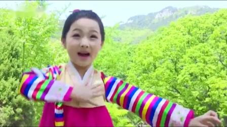 朝鲜歌曲 - 我国的木兰花 (小学) 황지은 우리나라목란꽃
