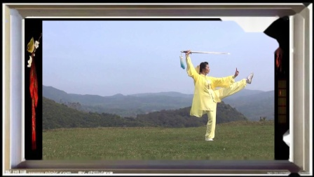 俞艳娇武当49式太极剑 (重配乐--蝶花飞舞)