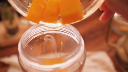 魔幻厨房-4步教你做芒果爆爆珠,一咬就爆浆,可搭各种饮品,比珍珠还好吃