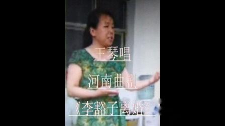 王琴演唱河南曲剧《李豁子离婚》新婚夜红灯亮