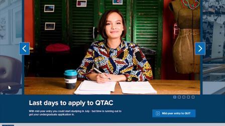 昆士兰科技大学QUT如何进行课程及迎新周的网上注册